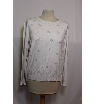 M&S Collection ivory Long Sleeve Top Size 18 M&S Marks & Spencer - Size: 18 - Cream / ivory - Jumper