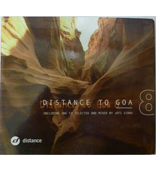Various ‎– Distance To Goa 8 Various