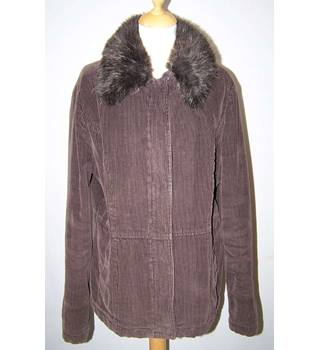 Rocha John Rocha - Size: 16 - Brown - Coat