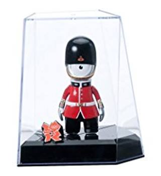 Olympic Mascots Wenlock Queens Guard Figurine