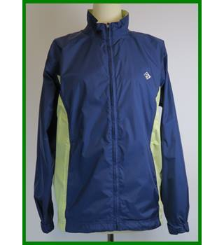 Ronhill - Size: 12 - Navy blue and lemon - Short jacket