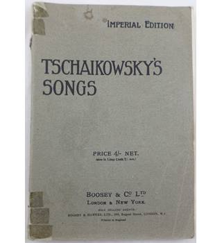 Tschaikowsky's Songs. Imperial Edition.
