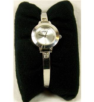 Spirit ladies bracelet wristwatch in silver tone. Boxed.