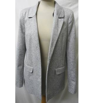 Warehouse - Size: 12 - Light Grey - Casual jacket / coat