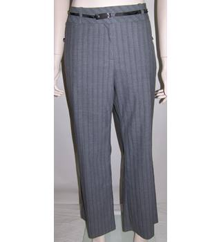 Marks and Spencer - Size: M - Grey - Trousers