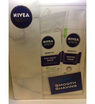 Nivea Men Smooth Shaving 2 piece set Shaving Foam and Post Shave Balm Nivea Men