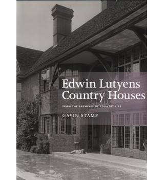 Edwin Lutyens Country Houses: From the Archives of Country Life Photography Book