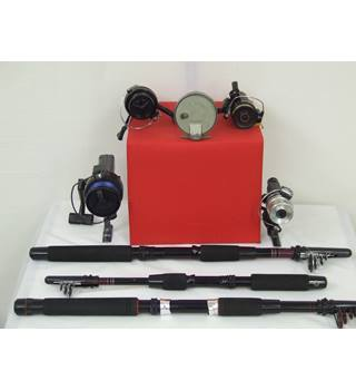 50% OFF SALE Fishing Rods and Reels