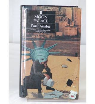 Moon Palace Hardcover Book Signed By Author Paul Auster