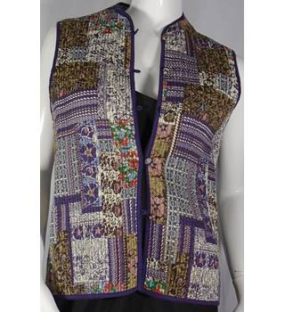 Orvis beautiful padded colourful gilet waistcoat - size S Orvis - Size: S - Multi-coloured