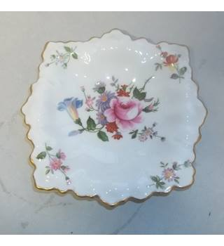 Vintage 1972 Royal Crown Derby Bone China Pin Dish Derby Posies Pattern