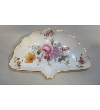 Vintage 1981 Royal Crown Derby Bone China Pin Dish Derby Posies Pattern