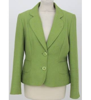 BHS size: 10 lime green jacket