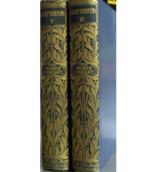 the complete poetical works of Thomas Chatterton Volumes 1 and 2