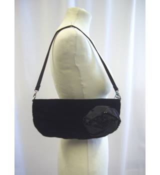 Coast - Size: One size - Black - Velveteen - Handbag