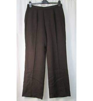 Laura Ashley - Size: 14 - Brown trousers