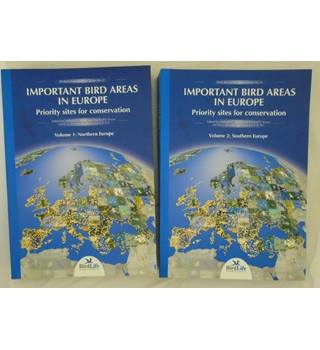Important Bird Areas in Europe,  Priority Sites for Conservation 2 volume set