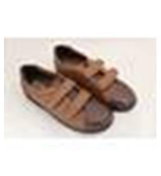 Luftpolster Chums - Size : 6 - Brown - Velcro fastening shoes