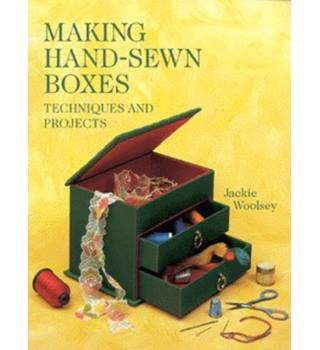 Making hand-sewn boxes