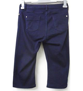 "Per Una - Size: 28"" - Blue - Cropped trousers"