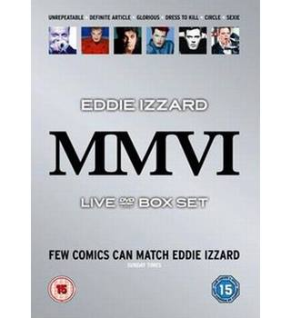 EDDIE IZZARD BOX SET 15