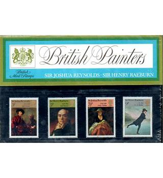 British Painters: Sir Joshua Reynolds & Sir Henry Raeburn British Post Office Mint Stamps