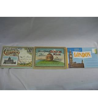Pictorial Souvenirs of Chicago, Boston and London