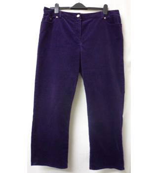 Country Casuals - Size: 10 - Dark Purple - Trousers