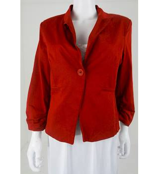 RMB Size XL Ruby Red Blazer