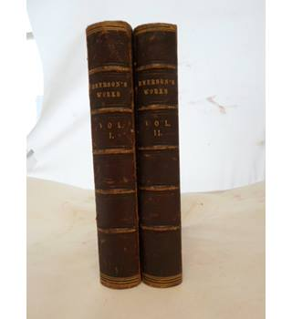 Complete Works of Ralph Waldo Emerson Vol 1 and 2