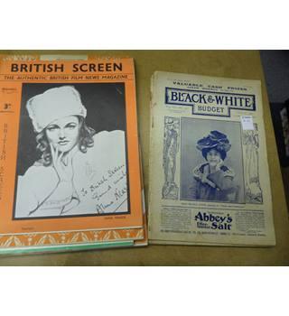 A Selection of film magazines
