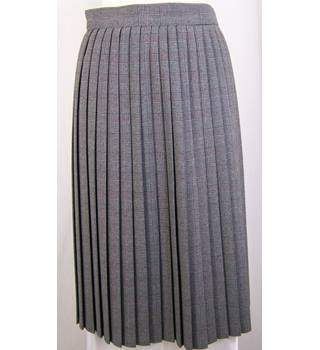 St Michael - Size: 14 - Grey - Pleated skirt