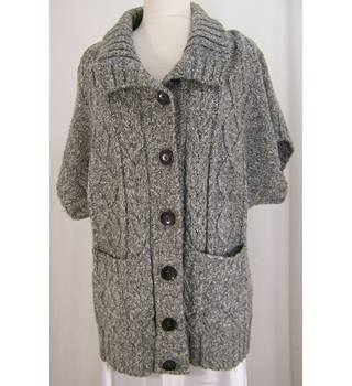 Artigiano - Size: 20 - Luxury soft, Grey - Cardigan