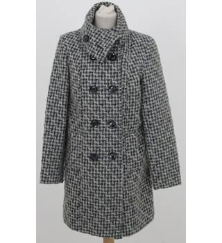 The Collection by Debenhams - Size: 10 - Grey mix weave -  coat