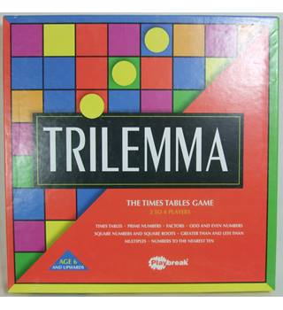 Playbreak - Trilemma - The Times Table Game