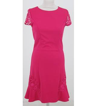 Little Mistress London - Size: 8 - Pink - Knee length dress