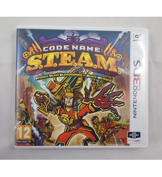 Code name: S.T.E.A.M for Nintendo 3DS