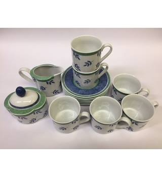 Villeroy and Bosch 14-piece coffee set