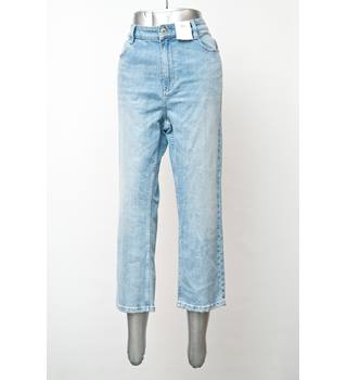 "M&S Marks & Spencer - Size: 34"" - Blue - Cropped jeans"