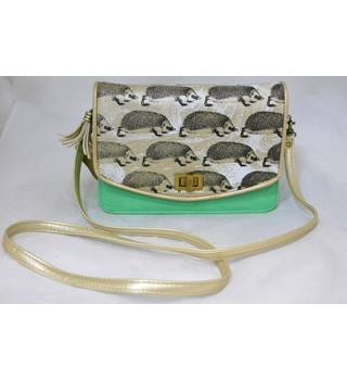 BNWT - Heritage and Harlequin - Green and bronze purse / handbag