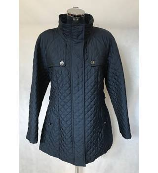 BNWT Planet, size 16 navy Quilted Short Coat