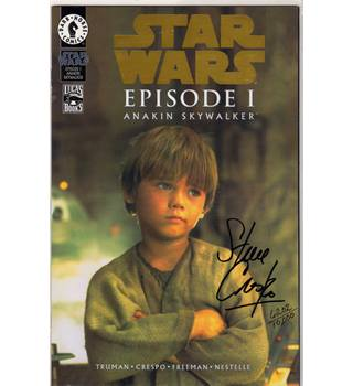 Star Wars Episode 1 Anakin Skywalker (signed)