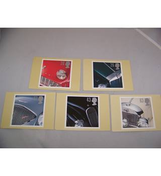 royal mail postcards - classic sports cars