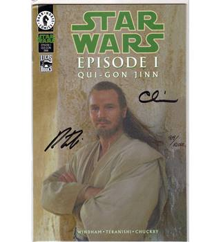 Star Wars Episode 1 Qui-Gon Jinn (signed)