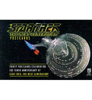 Star Trek Postcards (Star Trek Next Generation)