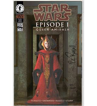 Star Wars Episode 1 Queen Amidala (signed)