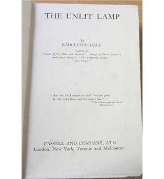 The Unlit Lamp