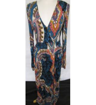 Papaya - Long - Maxi Dress - Size 14 UK