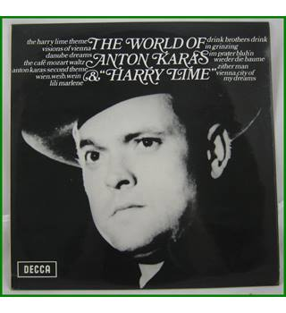 "Anton Karas -  The World Of Anton Karas & ""Harry Lime"" - SPA 118"