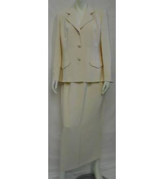 Frank Usher - Size: 14 - Light Peach - Jacket Suit